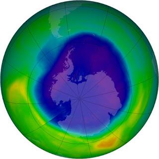 Situación de la capa de ozono