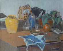 La taula de l'estudi