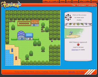 Free Online Pokemon RPG Game - The Pokemon League