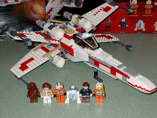 6212 X-Wing Fighter Star Wars Lego Collectables