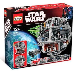 Death Star Box 10188 Star Wars Lego Collectables