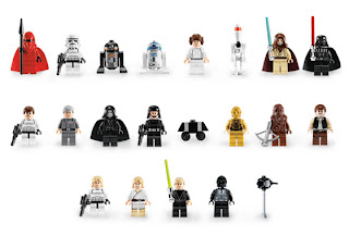 Death Star Rare Minifigures 10188 Star Wars Lego Collectables