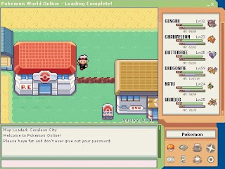 Free Online Pokemon Games - Pokemon World Online - Free RPG Game
