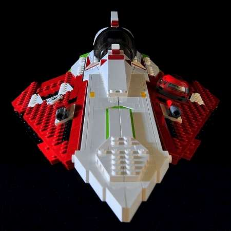 Lego review 10215 Obi-Wans Jedi Starfighter collectable