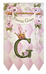 princess+wall+hanging Personalized Children's Wall Art