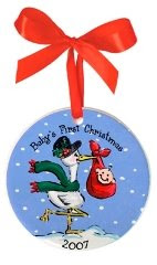 first+christmas+ornament Baby Christmas Gifts
