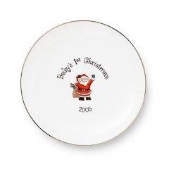 xmas+plate Baby Christmas Gifts
