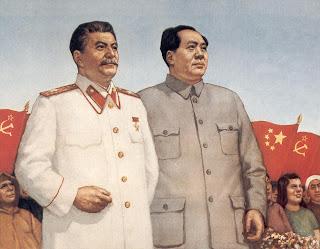 Stalin y el Partido Comunista Ruso hoy, por G.A.Ziuganov Stalin-mao
