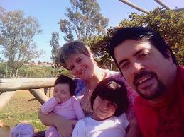 Família - César, Tania, Lívia e Sarah 2009