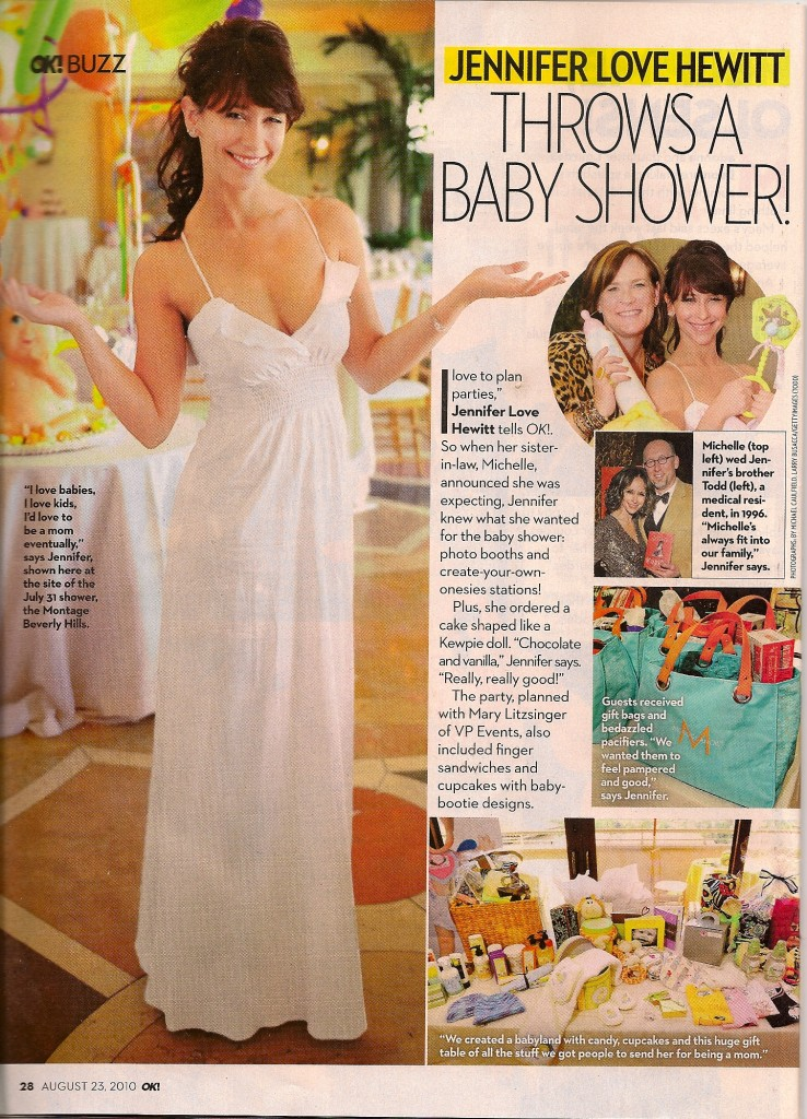 Petit press jennifer love hewitt s baby shower
