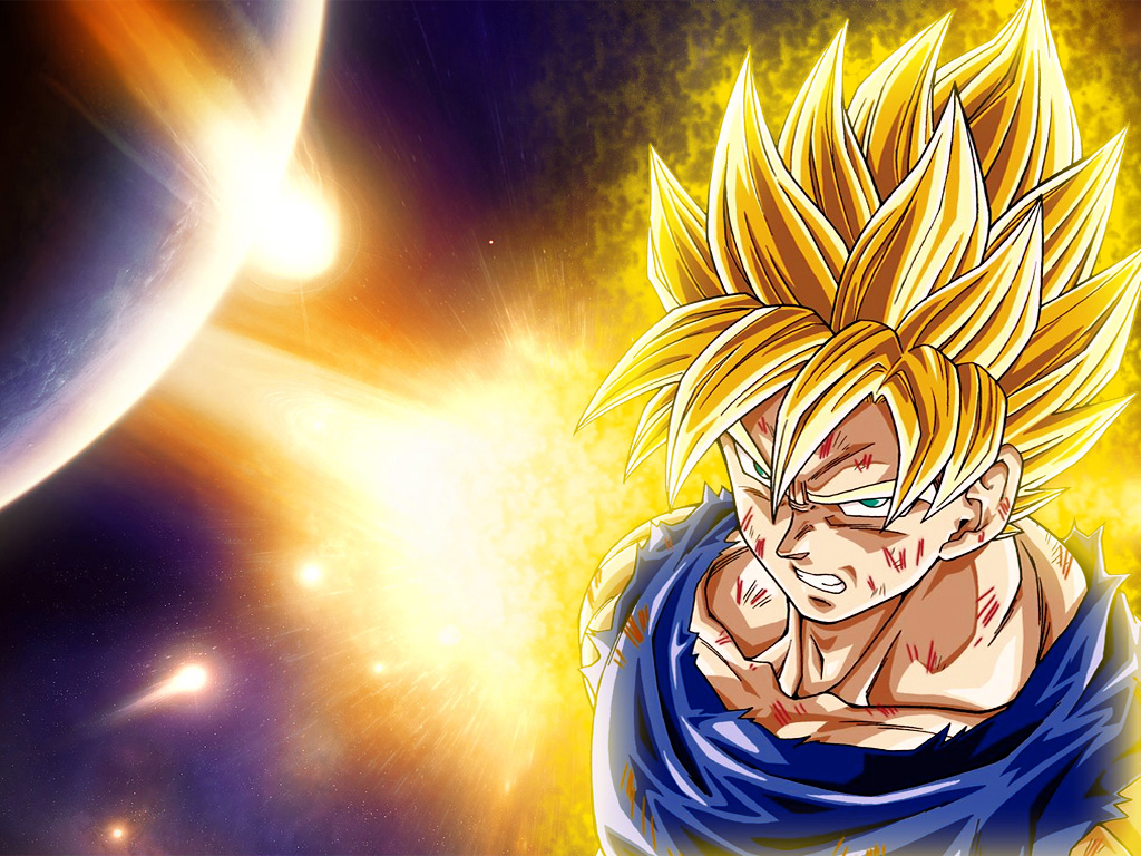 Dragon Ball Z Goku Super Saiyan God