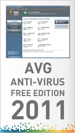ANTIVIRUS AVG FREE EDITION 2011