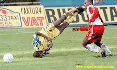 World Dangerous Sports Accidents Pictures