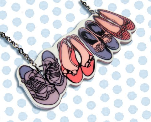 Pile of Shoes Necklace - �