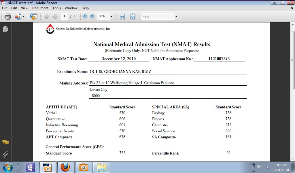 Nmat results for Window 4 nmat