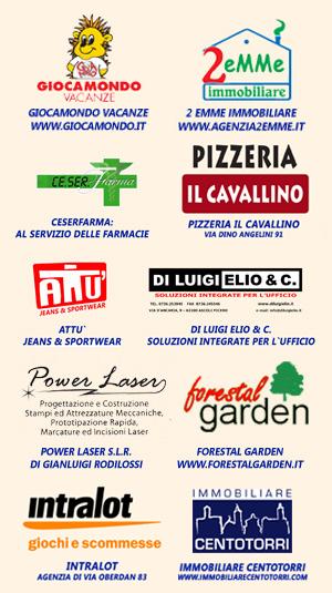 Sponsor Ufficiali per la stagione 2010/2011