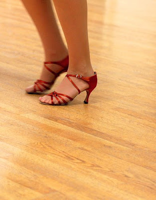 High Heel for Dancing and Dance Instructor