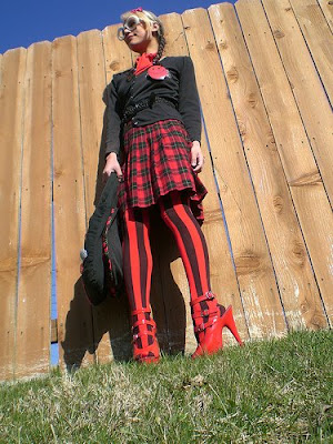 Satanic Schoolgirl Costumes and Shoes
