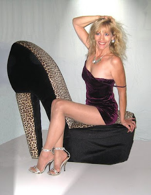 Sexy Lady Posing with high Heel