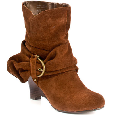 Leather Upper Ankle boot