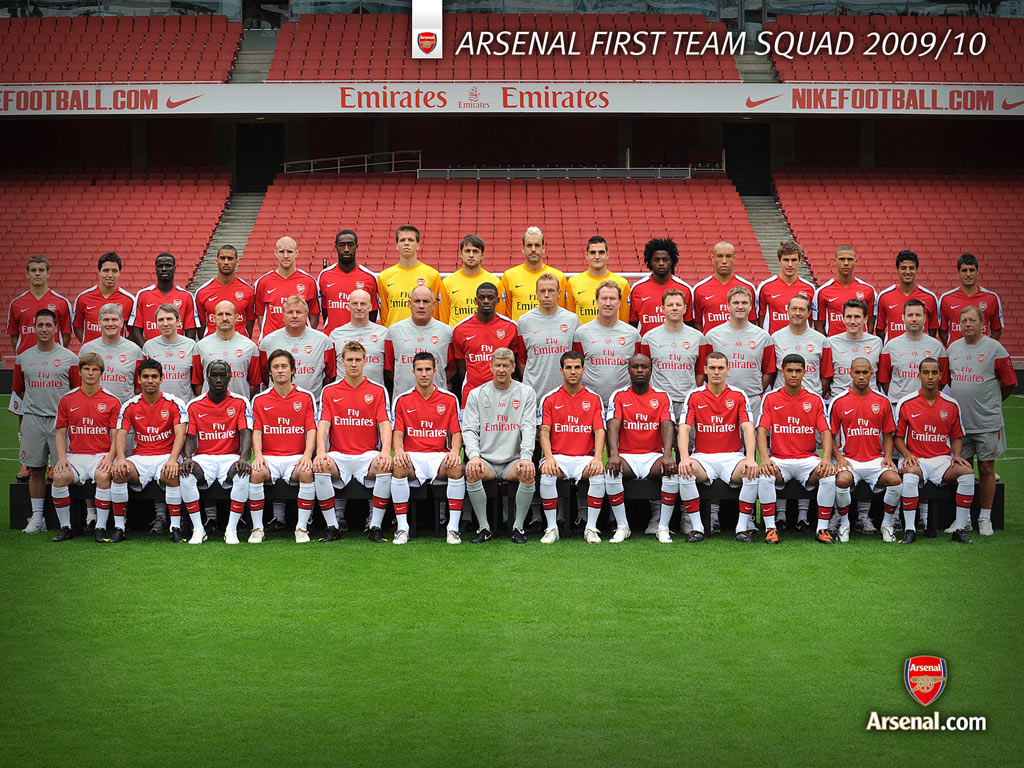 (Arsenal Squad)