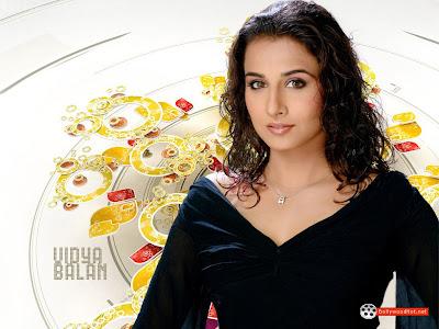 hot wallpaper of vidya balan