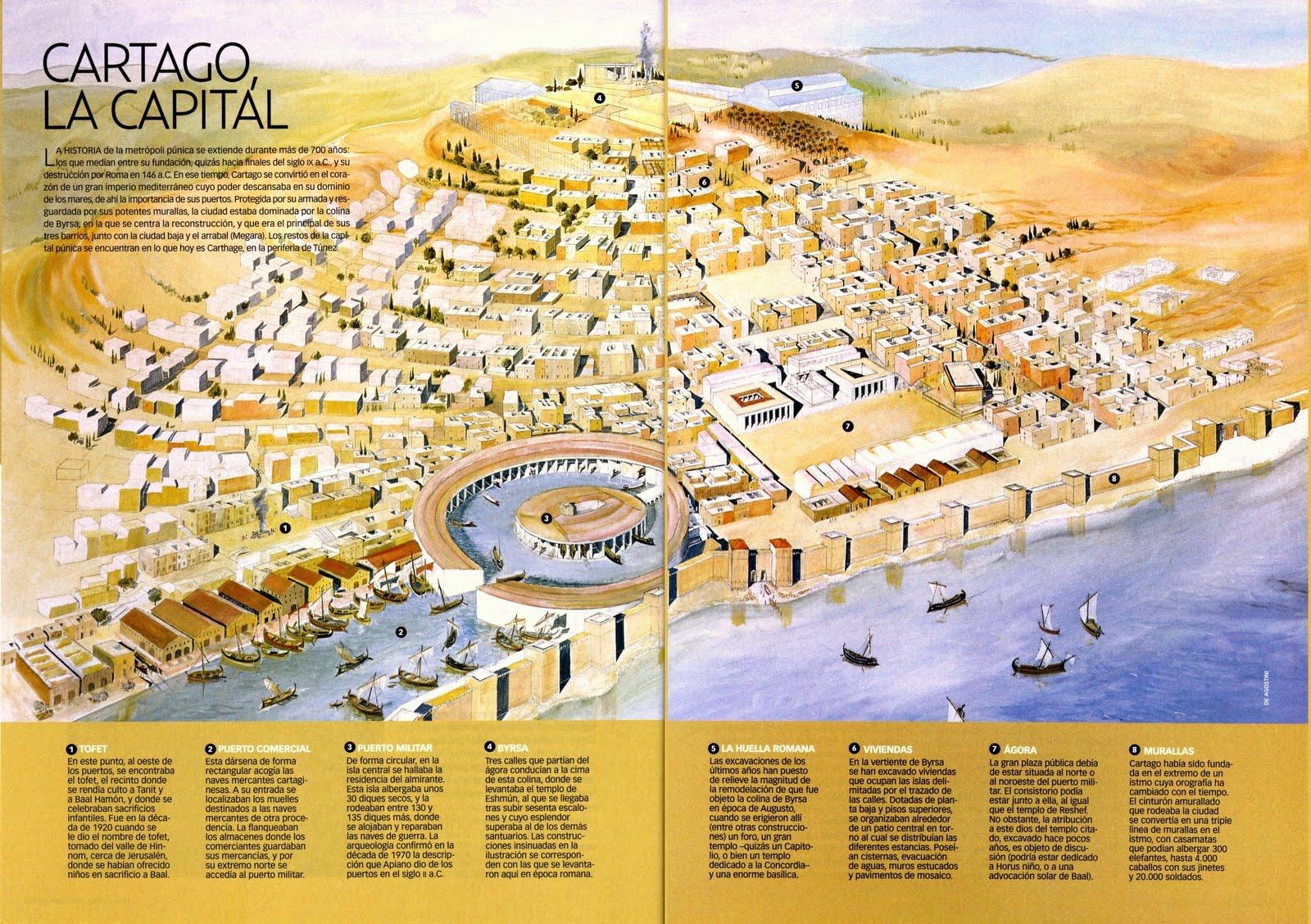 Resultado de imagen de Mapa de Túnez, cartago