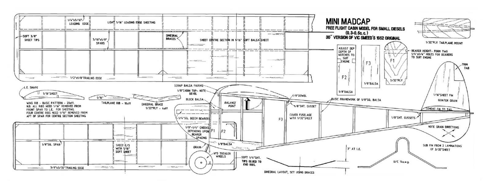 Volar Libremente - Free Flight Models Airplanes: MINI