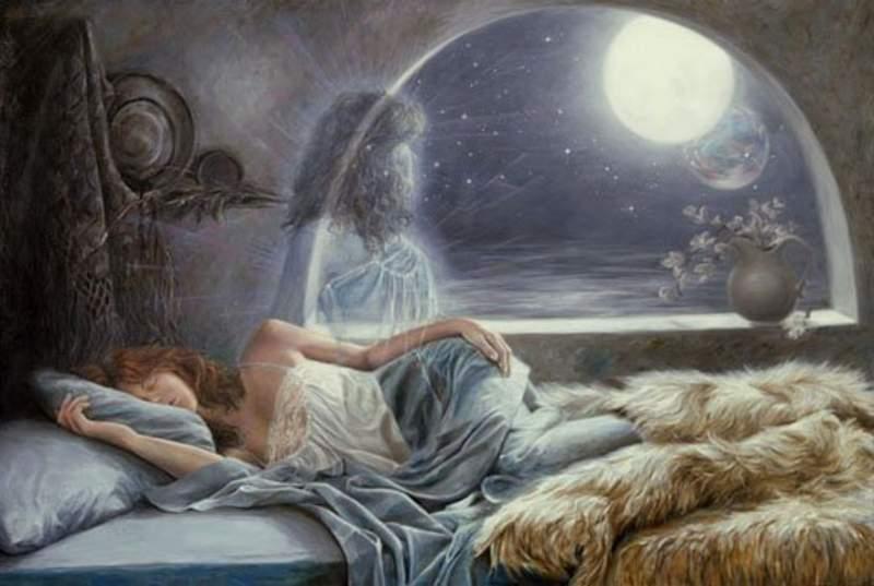 mujer de sueño