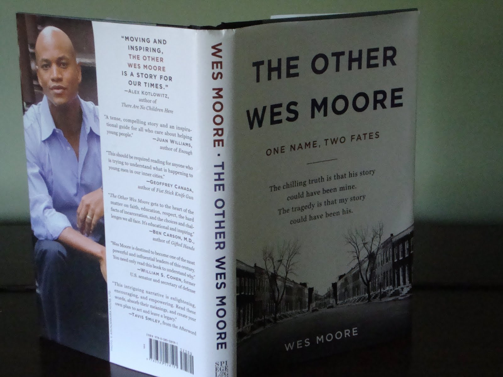 wes moore comparative essay essay The other wes moore by wes moore is the story of two black men who have a lot in common the same name, lived in the same city of baltimore, but whose lives took two completely different paths the author, who is wes moore, graduated from college, became a rhodes scholar and gave a speech at the 2008 democratic national convention which is a.