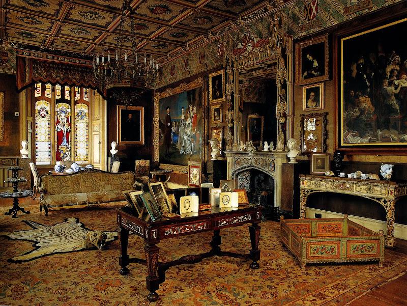 English Manor House Interiors (15 Image)
