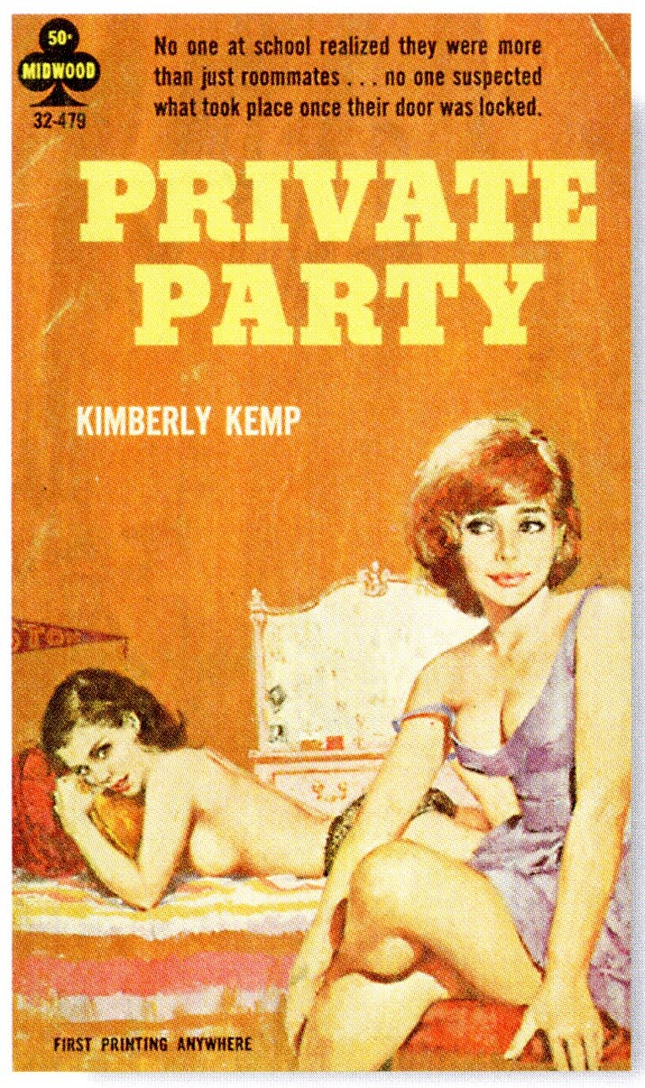 Lesbian pulp fiction book covers