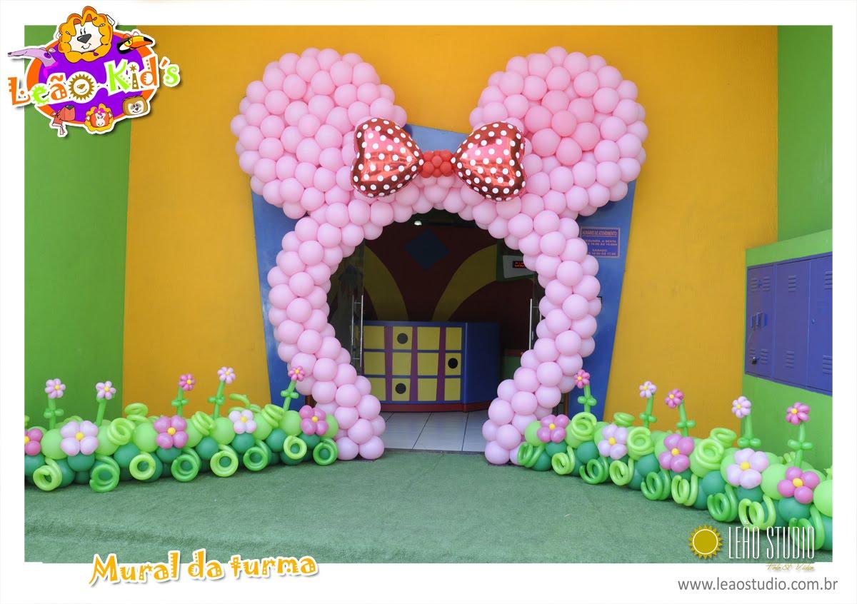 Festa Aniversario Infantil   Tema Circo E Tema Minnie