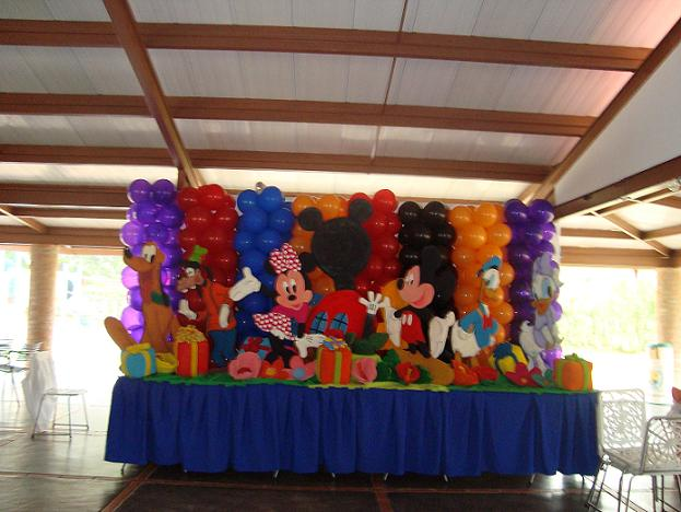 Decoracion Para Fiestas De Mickey Mouse