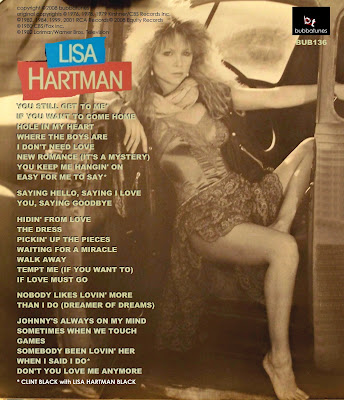 Bradley's Buzz: bubbaTUNESday - bub136 Lisa Hartman - Dreamer Of ...