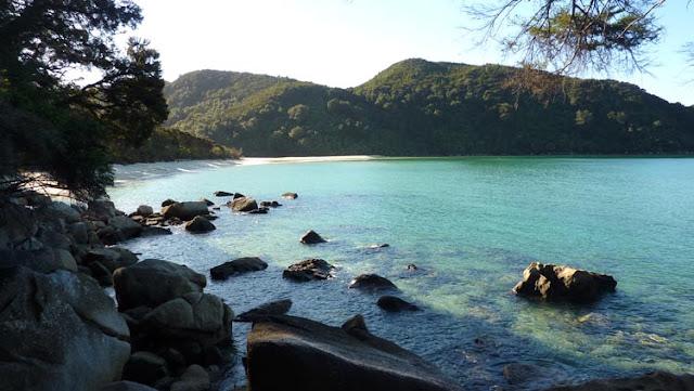 En Abel Tasman National Park dan ganas de pararse en cada rincón