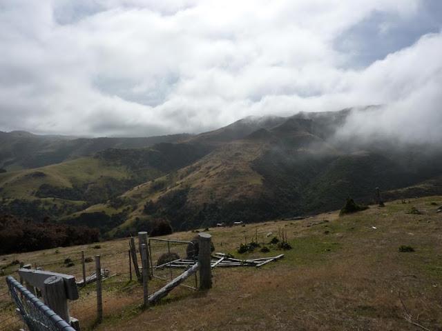 Las vistas de Akaroa son espectaculares