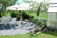 vår trädgård om våren