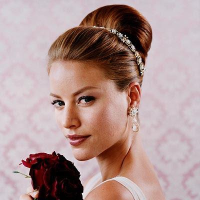 Кращі весільні зачіски фото :