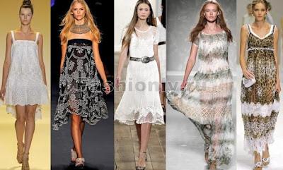 Мереживні сукні