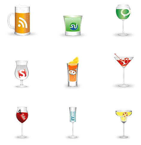 "Cheers: A Free ""Social"" Icon Set"
