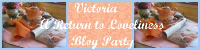 Victoria A Return to Loveliness