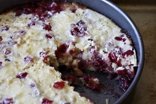 how to prepare cranberries for pie
