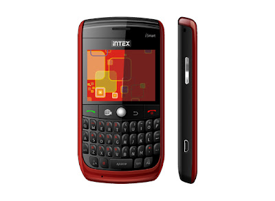 Intex iSmart Price - Intex QWERTY mobile phone - iSmart Price in India