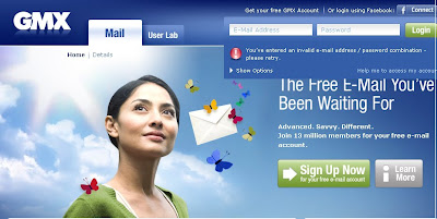 Www.GMX.com - Login To Free Webmail and E-Mail by GMX - Sign Up Now