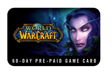 WoW Game Card - Worldofwarcraft.com/gamecard