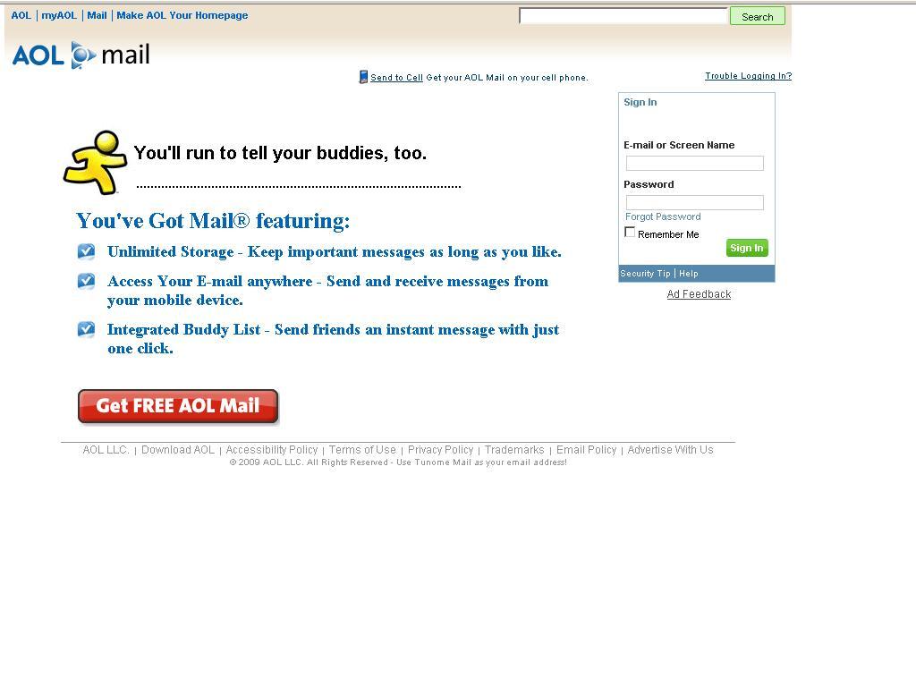 free aol.com