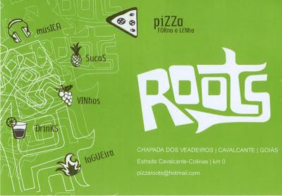 Roots Pizza Bar  Forno a Lenha  Sucos  Vinhos  Drinks  Fogueira  Música