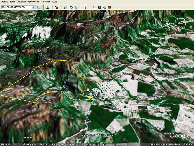 Projetos em Google Earth
