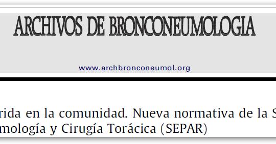 Normativa Separ En Neumon A 2010 Un Mapache